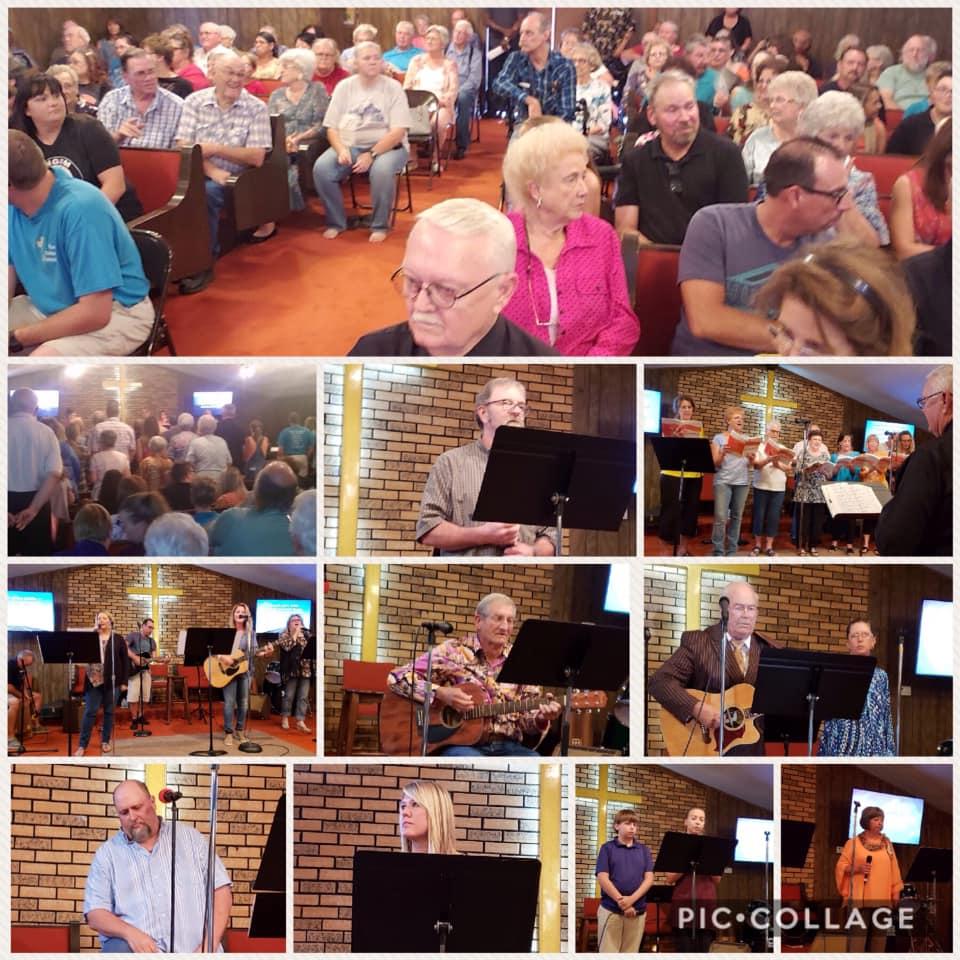 Community Sing at Church of God