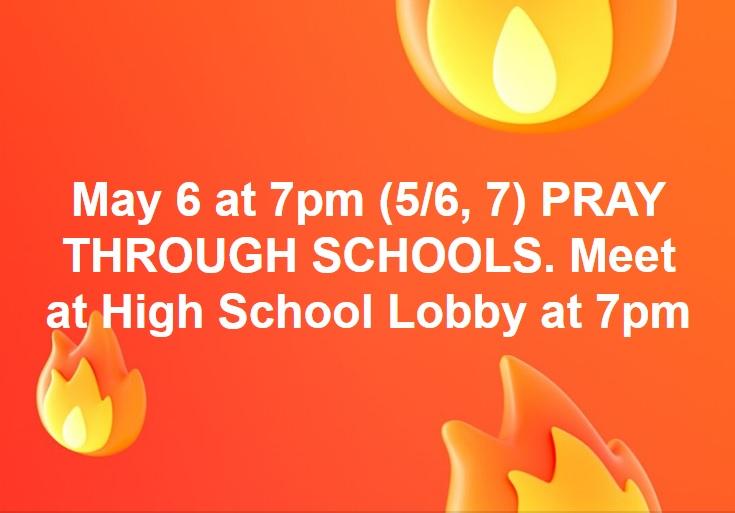 Prayer Through Schools